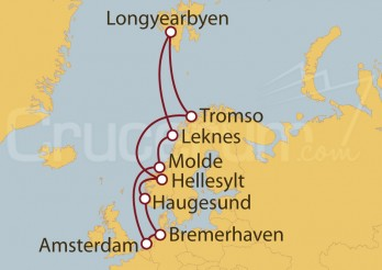 Crucero Spitzbergen: más allá de Cabo Norte