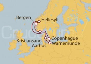 Crucero Dinamarca, Noruega, Alemania
