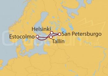 Crucero Capitales Bálticas - Suecia, Finlandia, Rusia y Estonia