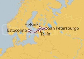 Crucero Suecia, Finlandia, Rusia y Estonia