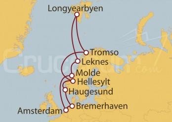 Crucero Alemania, Holanda, Noruega, Spitzbergen