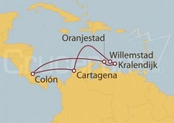 Crucero Antillas y Caribe sur