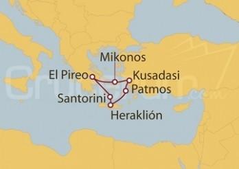 Crucero Grecia, Turquía