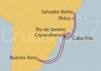 Crucero Argentina, Brasil