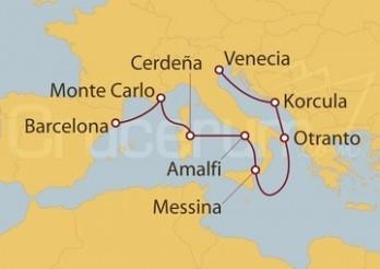 Crucero Venecia - Barcelona
