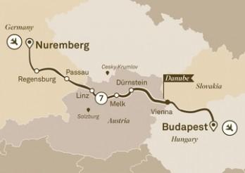 Crucero Mercados de Navidad en el Danubio