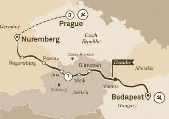 Crucero De Praga a Budapest