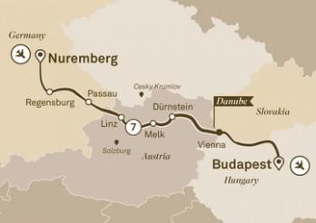 Crucero Entre Nuremberg y Budapest