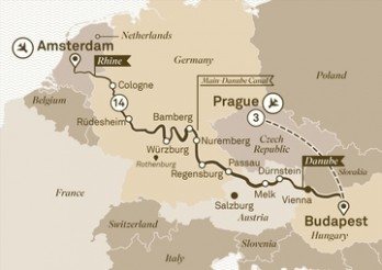 Crucero Mercados de Navidad desde Praga