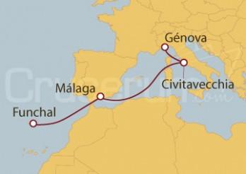 Crucero Portugal, España, Italia