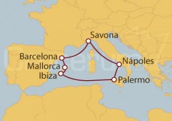 Crucero Inmersión en el Mediterráneo I