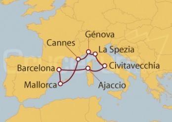 Crucero De la Croisette a los barrios romanos