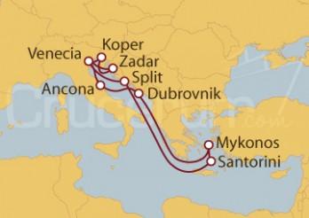 Crucero Croacia, Grecia, Italia, Eslovenia