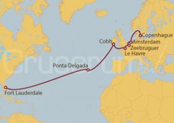 Crucero De Fort Lauderdale (EE UU) a Copenhague (Dinamarca)