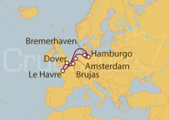 Crucero Alemania, Holanda, Bélgica, Gran Bretaña, Francia I