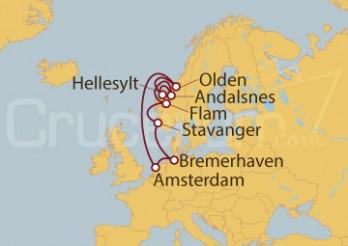 Crucero Alemania, Holanda, Noruega II
