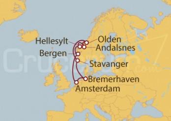 Crucero Alemania, Holanda, Noruega I