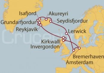 Crucero Alemania, Holanda, Escocia, Islandia