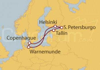 Crucero El Latido del Báltico