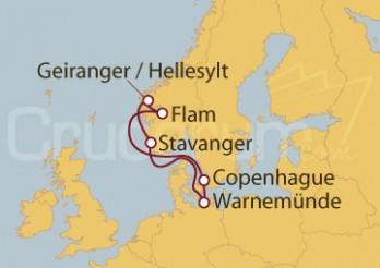 Crucero Báltico - Copenhague (Dinamarca), Alemania y Noruega