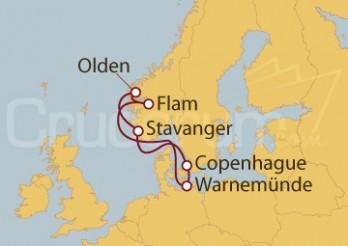 Crucero Báltico - Noruega desde Copenhague
