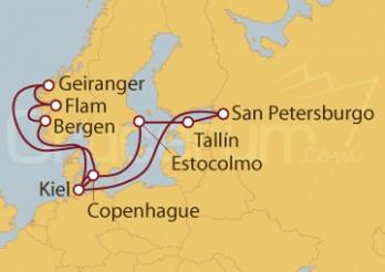 Crucero Alemania, Dinamarca, Suecia, Estonia, Rusia, Noruega