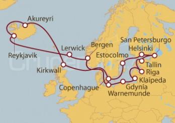 Crucero Gran Crucero: Capitales Bálticas y Países Nórdicos