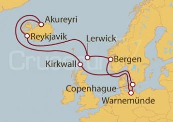Crucero Lerwick: Prados y Piedras en Shetlands desde Warnemünde