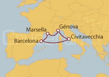 Crucero Paseando por la Riviera Francesa