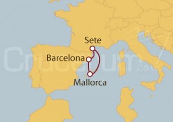 Crucero España, Francia