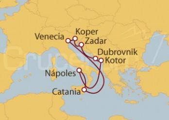 Crucero Adriático desde Venecia