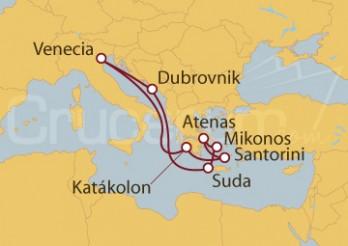 Crucero Venecia, Croacia, Chania y Grecia
