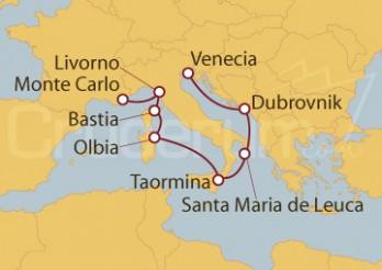 Crucero De Montecarlo a Venecia