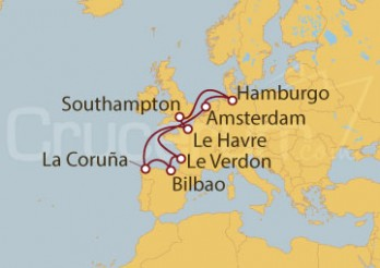 Crucero De Southampton a Génova