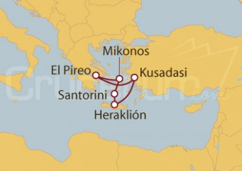 Crucero Desde Kusadasi, Grecia