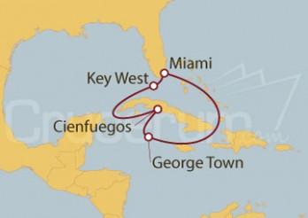 Crucero EEUU, Islas Caimán
