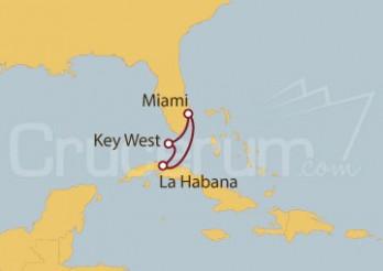 Crucero La Habana desde Miami