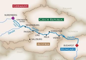 Crucero Danubio Legendario