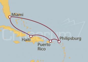 Crucero Sabores Caribeños