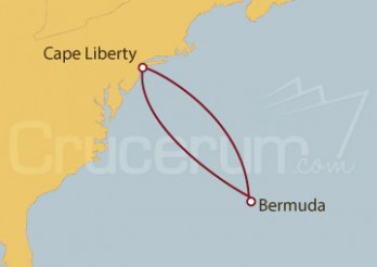 Crucero Cape Liberty (N. Jersey), King's Wharf, Bermuda