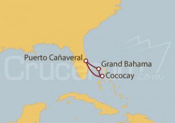 Crucero Bahamas: Grand Bahama y Cococay