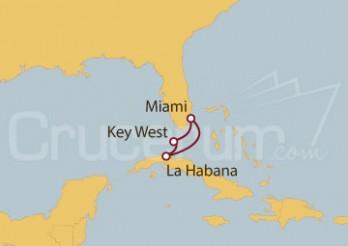 Crucero Miami (EE UU), Key West y La Habana