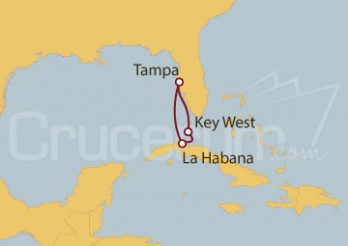 Crucero EEUU, Cuba