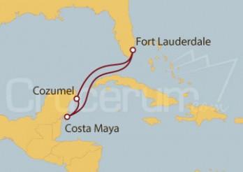 Crucero Fort Lauderdale(EEUU) y México