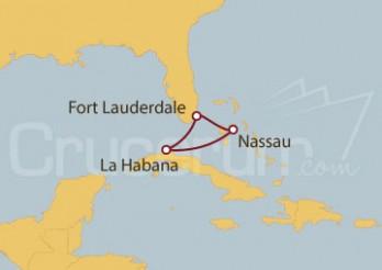 Crucero EEUU, Cuba, Bahamas