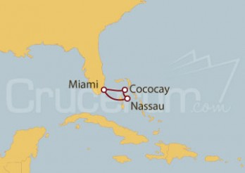 Crucero Miami (EEUU), Bahamas