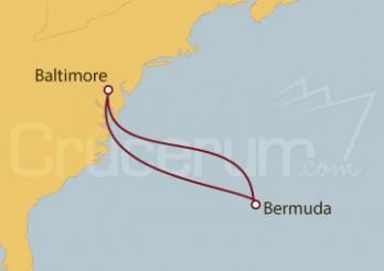 Crucero Baltimore, Meriland (EE.UU.), King's Wharf, Bermuda