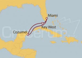 Crucero EEUU, México