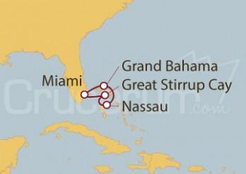 Crucero Miami (EEUU) y Bahamas