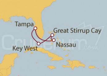 Crucero Bahamas y Florida desde Tampa (EE UU)